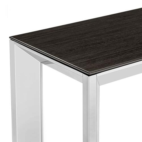Milo Console - Smoked Grey Oak