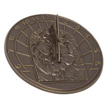 Small Hummingbird Sundial - French Bronze