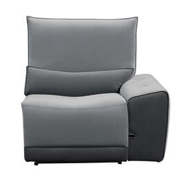 Power Right Side Reclining Chair with Adjustable Headrest