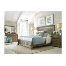 Pacifica King Panel Bed - Complete
