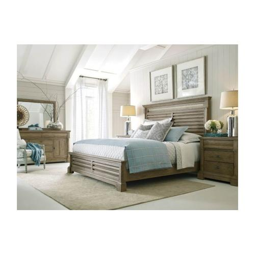Pacifica Queen Panel Bed - Complete