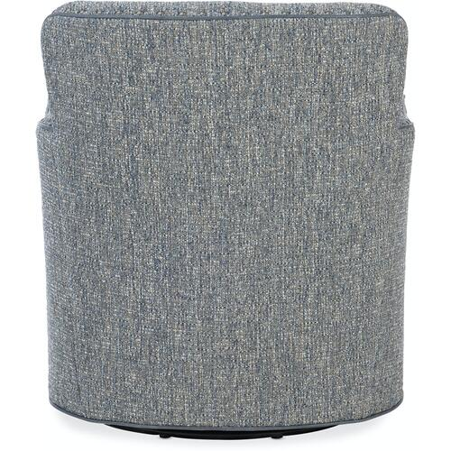 Bradington Young - Bradington Young Luna Swivel Tub Chair 8-Way Tie 316-25SW
