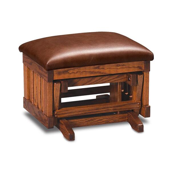 See Details - Urbandale Glider Ottoman, Fabric Cushion Seat