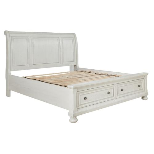 Robbinsdale Queen Sleigh Bed With Storage
