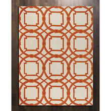 Arabesque Rug-Coral-5 x 8