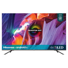 "55"" Class- H8G Quantum Series - Quantum 4K ULED Hisense Android Smart TV (54.6"" diag)"