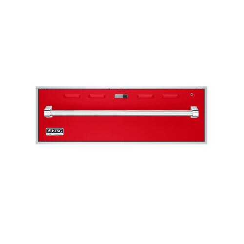 "Racing Red 30"" Professional Warming Drawer - VEWD (30"" wide)"