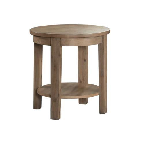 7041 Tustin Round End Table