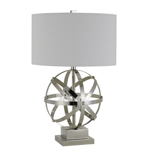 150W 3 Way Vittoria Metal Table Lamp