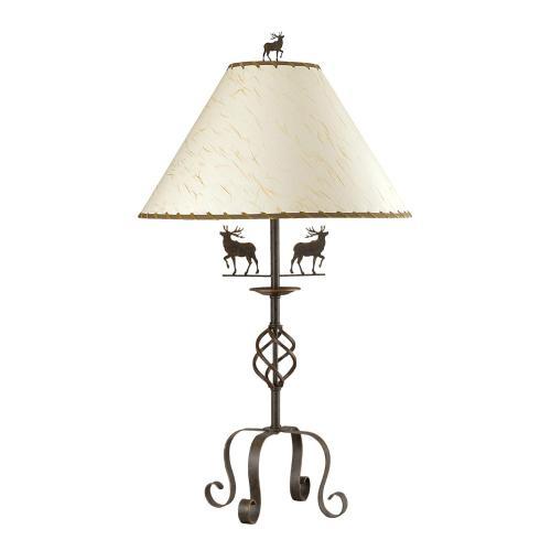150W 3Way Deer Iron Table Lamp
