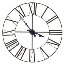 """See Details - Pender 50"""" Round Giant Oversized Industrial Wall Clock"""