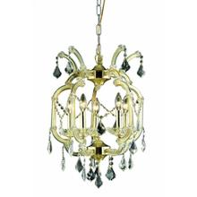 Maria Theresa Coll. Mini Chandelier Gold Finish 5Lt
