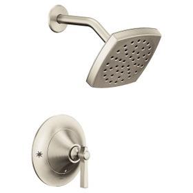 Flara brushed nickel posi-temp® shower only