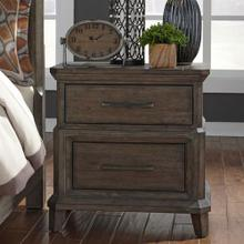 View Product - 2 Drawer Night Stand w/ Charging Station