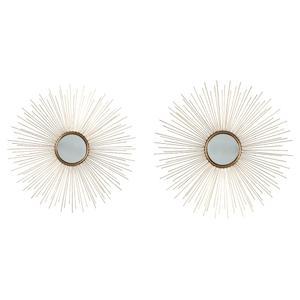 Ashley FurnitureSIGNATURE DESIGN BY ASHLEDoniel Accent Mirror (set of 2)