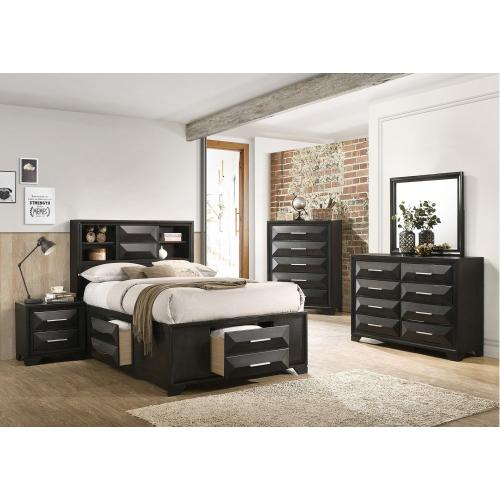 Gallery - 1063 Aria King Storage Bed