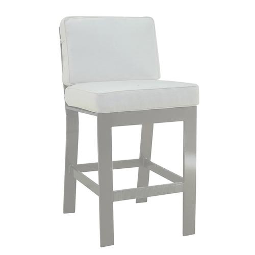 Castelle - Trento Cushioned Armless Counter Stool