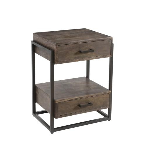 Beckett 2 Drawer Side Table