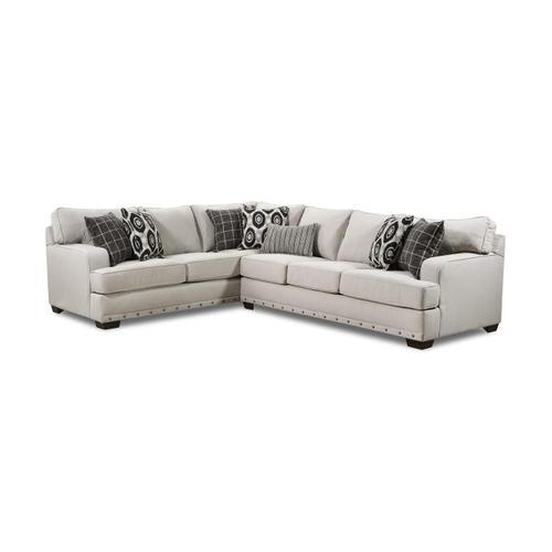 Lane Home Furnishings - 8016 Bavaro Two Piece Sectional