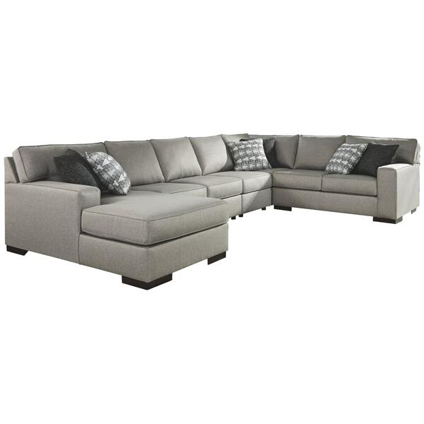 See Details - Marsing Nuvella 5-piece Sleeper Sectional With Chaise