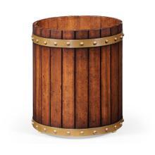 Peat bucket style waste bin (Round)