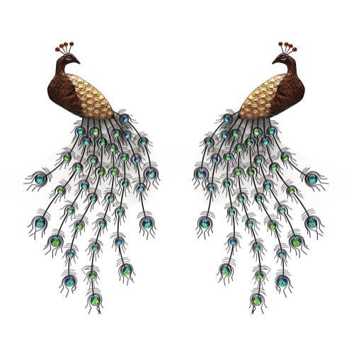 Product Image - Glancing Peacocks
