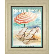 """""""Shore Poster Il"""" By Patricia Pinto Framed Print Wall Art"""