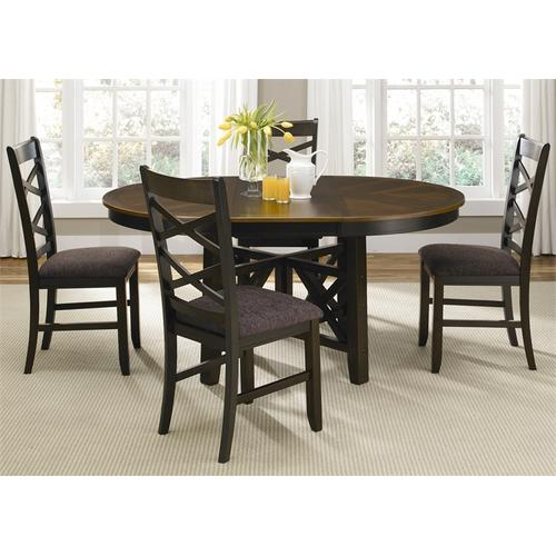 Liberty Furniture Industries - Oval Pedestal Table Base