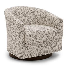 ENNELY Swivel Barrel Chair
