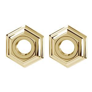 Nicole Grab Bar Brackets A7724 - Polished Brass