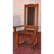View Product - Sequoia Arm Chair With Leather Seat