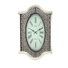 "20"" x 30.5"" x 2.5"" Brown & White, Vintage - Wall Clock"
