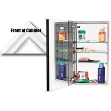 See Details - Mirror Cabinet MC30244 - White