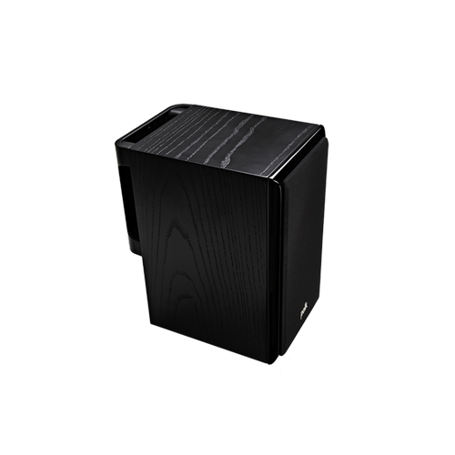 Legend Series Premium Bookshelf Speakers in Black Ash