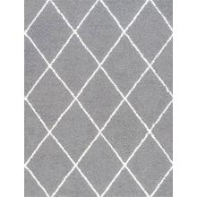 Jersey Shag - JRS1102 Silver Rug