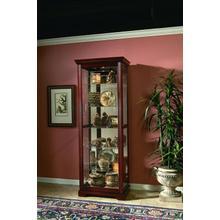 View Product - Two Way Sldg Door Curio Victorian Cherry