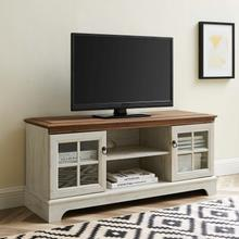 """Pacific 47"""" TV Stand in Walnut White"""