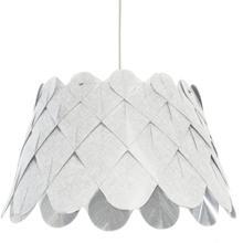 Product Image - 1lt Amirah Pendant Camelot White, Polished Chrome