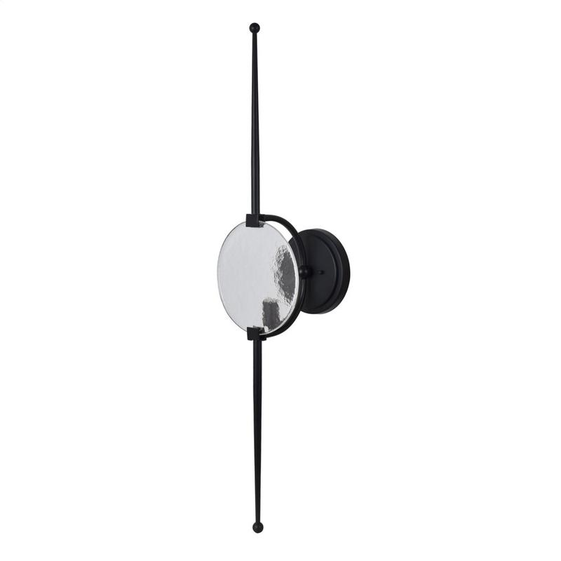 Skye Wall Sconce with Architectural Glass Diffuser