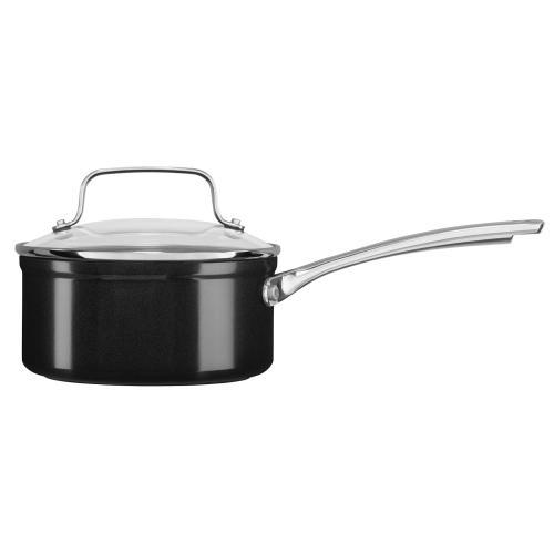 Hard Anodized Non-Stick 11-Piece Cookware Set - Black Sapphire