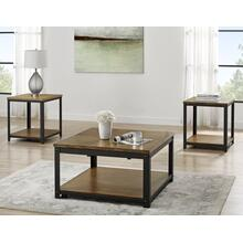 Logan 3-Piece Lift-Top Cocktail Set (Lift-Top Cocktail & 2 End Tables)