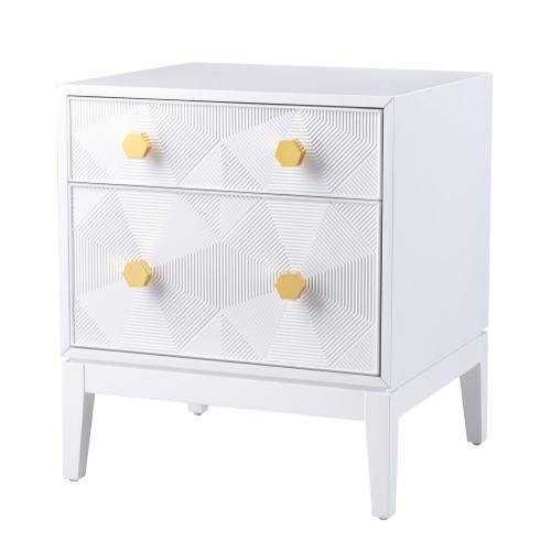 Tov Furniture - Mila Lacquer Side Table