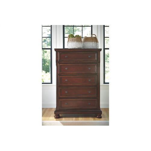 Porter Chest Rustic Brown