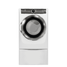 Scratch & Dent Front Load Perfect Steam Gas Dryer with PredictiveDry and Instant Refresh - 8.0. Cu. Ft.