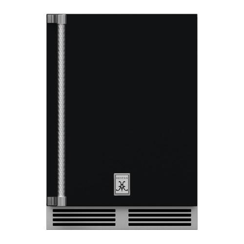 "24"" Hestan Outdoor Dual Zone Refrigerator with Wine Storage (Solid Door) - GRWS Series - Stealth"