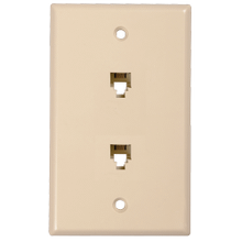 See Details - Dual Phone Wall Plates