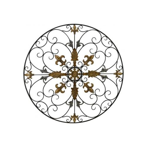 Product Image - MH1074  Black & Gold Circle Scrolls