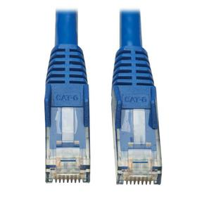Cat6 Gigabit Snagless Molded UTP Ethernet Cable (RJ45 M/M), PoE, CMR-LP, Blue, 50 ft.