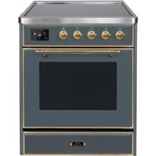 "30"" Inch Blue Grey Freestanding Range"
