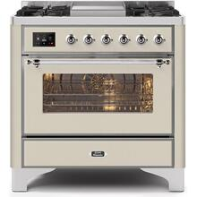 "36"" Inch Antique White Liquid Propane Freestanding Range"